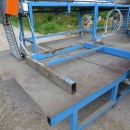 4139 EMVE roller table 4000x450 mm