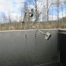 4315 Stainless steel bunker 1650x600 mm