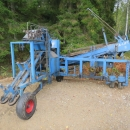 4419 Asa-Lift carrot harvester 1 row with roller table