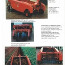 4649 GCL potato windrower and root vegetables