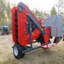 4692 Dewulf P3K carrot harvester with elevator