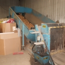 4756 EMVE grading line with receiving hopper