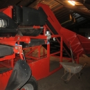 3230 EKKO receiving hopper with roller cleaner and 1200 mm screen grader