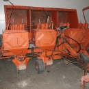 5007 Underhaug potato planter 4 row fertilizer and spraying applicator