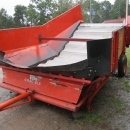 3276 AMAC receiving hopper with soil renover