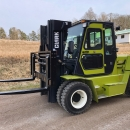 5053 Clark C70D 7 ton forklift for sale
