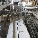 3381 Upmann weigher and tray packing line