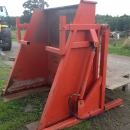 3436 EKKO box turner el-hydraulic 135 cm wide