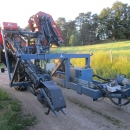 3457 Asa-Lift carrot harvester 1 row trailed elevator