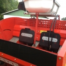 3485 Grimme GL32B 2 row potato planter year 2009