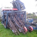 3508 Asa-Lift carrot harvester 3 row for industry carrots with elevator