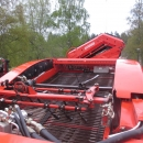3836 Grimme GZ1700 potato harvester with elevator