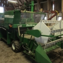 3841 Haldrup harvester for leaf vegetables, spinach etc