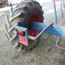 3842 Asa-Lift carrot harvester T-100B with bunker