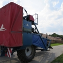 3967 Asa-Lift T255 2 row carrot harvester with elevato