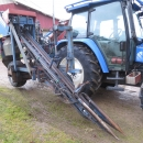 3975 Asa-Lift carrot harvester 1 row with elevator