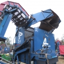 4016 Asa-Lift carrot harvester T-120B 1 row with bunker