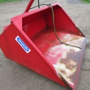 4074 Hydraulic bulk loading bucket for forklift