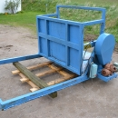 4076 EMVE box turner 1300 mm wide boxes electric