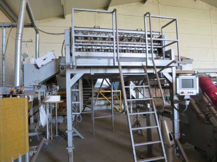 4108 Upmatic 2110 weigher with two net packaging machines