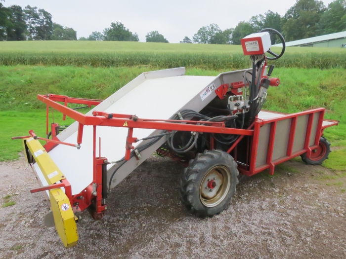 4150 Autran baby leaf harvester selfpropelled