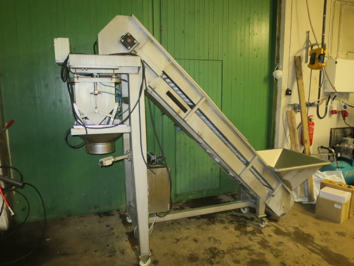 4357 Sormac automatic weigher stainless steel