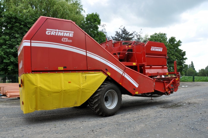 4377 Grimme SE260UB potato harvester 2 row