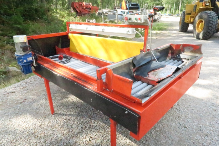 4387 EKKO inspection table double