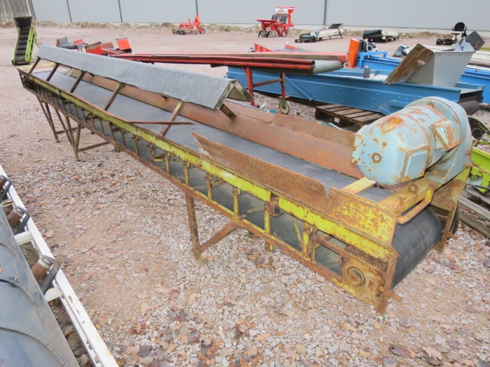 4464 SKALS plain conveyor 5200x350 mm