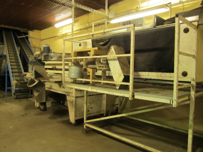 3263 SKALS potato sorting line
