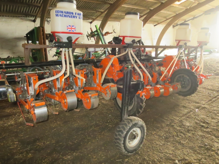 4576 Stanhay precision seeder 12 row