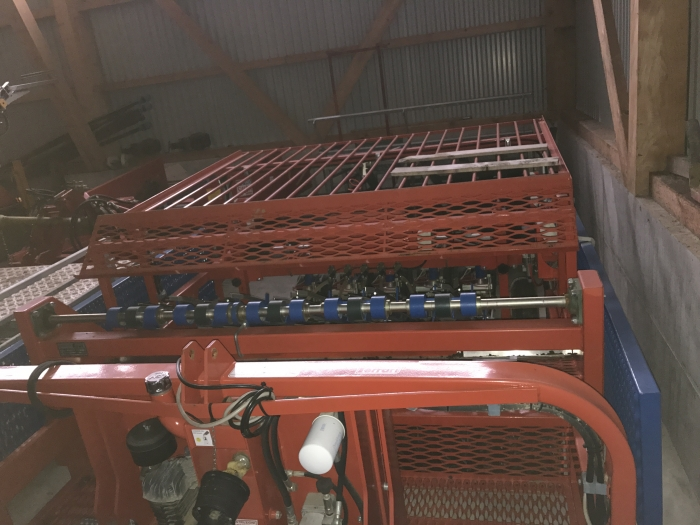 4582 Ferrari planting machine Rotostrapp 5 row pneumatical