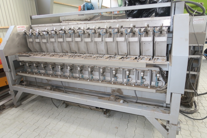 4644 Upmatic 2114VD Computer weigher 14 bucket