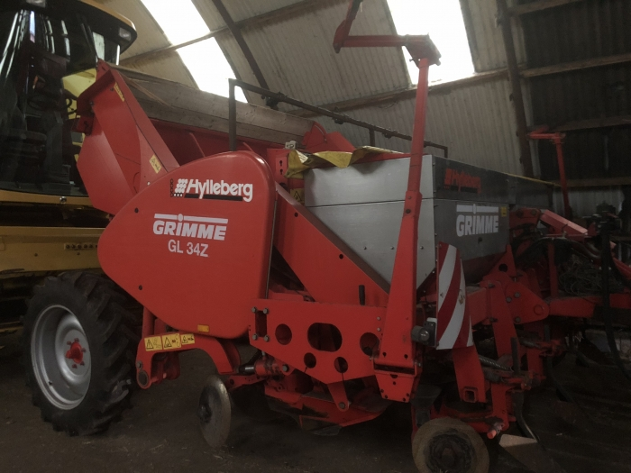 4764 Grimme GL34Z potato planter 4 row
