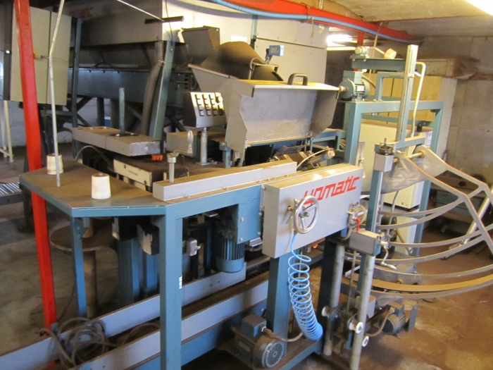3229 Upmann Upmatic paper bagger with multi head weigher