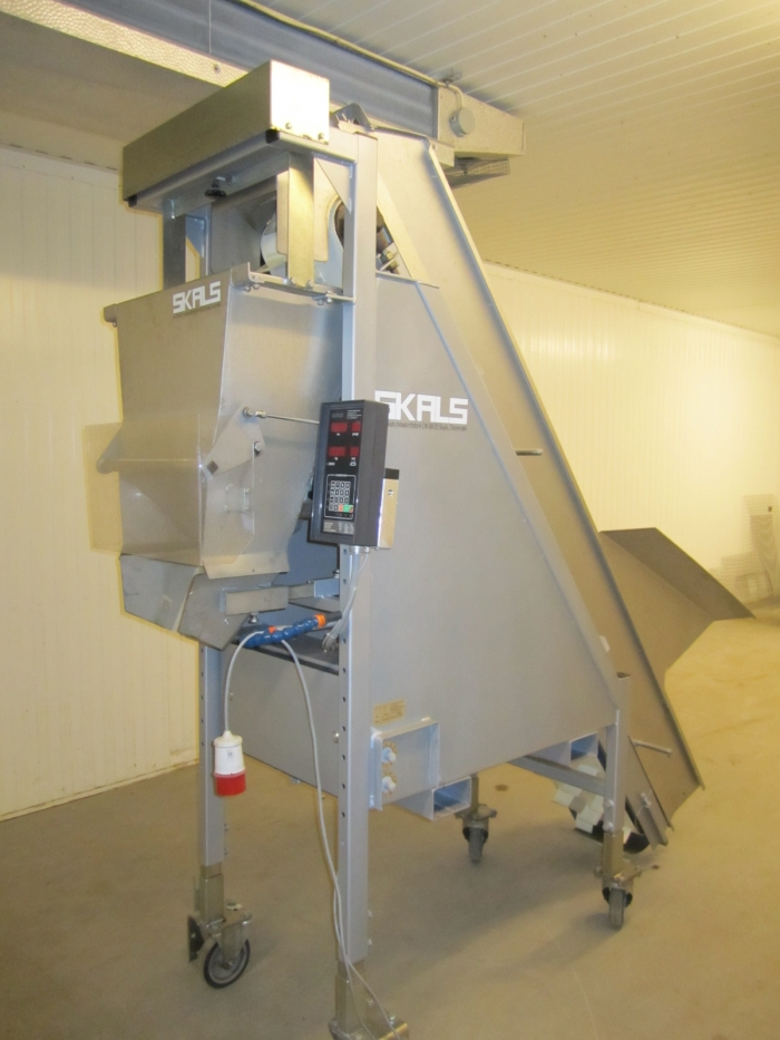 3217 SKALS automatic weigher Stainless steel 1-50 kg årsm 2007