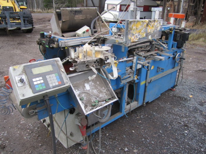 3318 EMVE BE 5000 potato bagger for paper bags