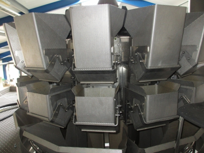 4979 Ishida multi head weight with Bosch SVE 3615 vertical bagger