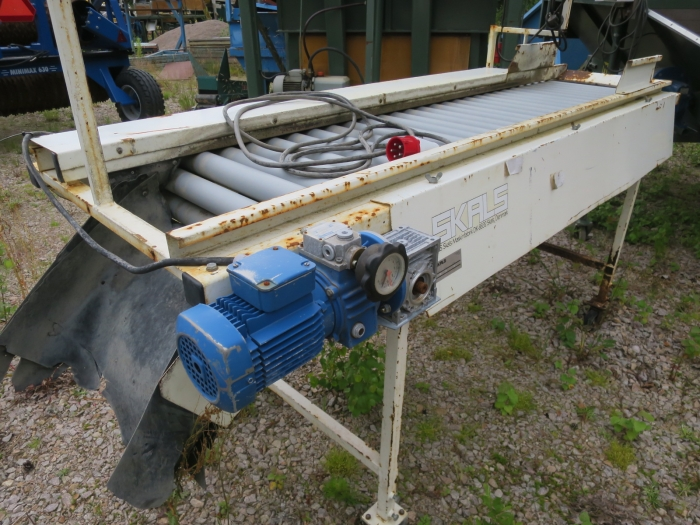 5059 Skals inspection table roller table 2100x600 mm