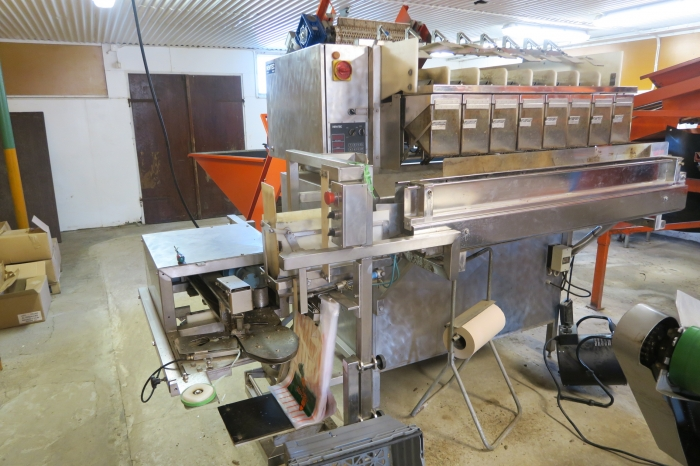 5155 Newtec 2000 / G45 weigher and bagger