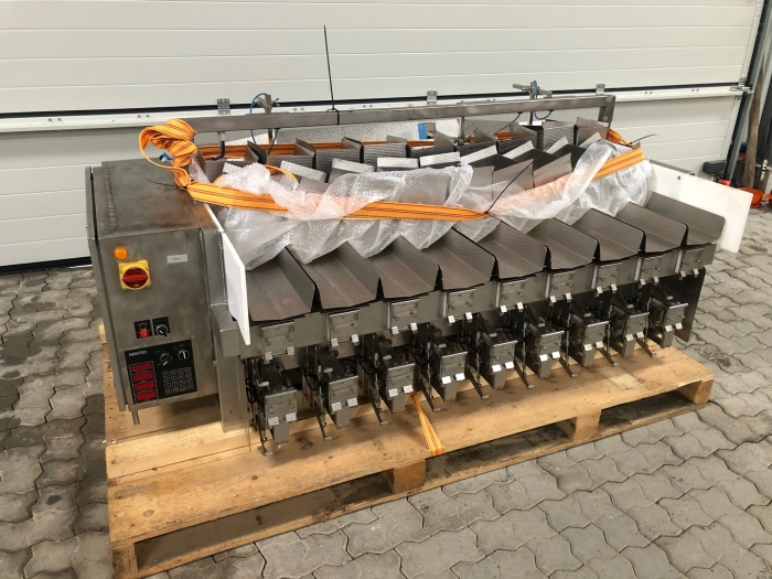 5159 Newtec 2009 PCB weigher for processed products