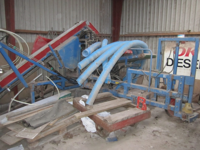 3362 ASA-LIFT leek harvester