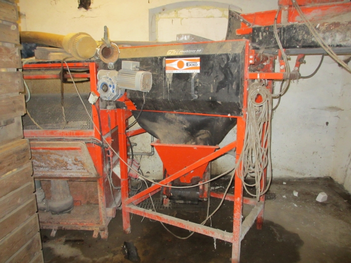 3492 EKKO complete carrot washing and grading line