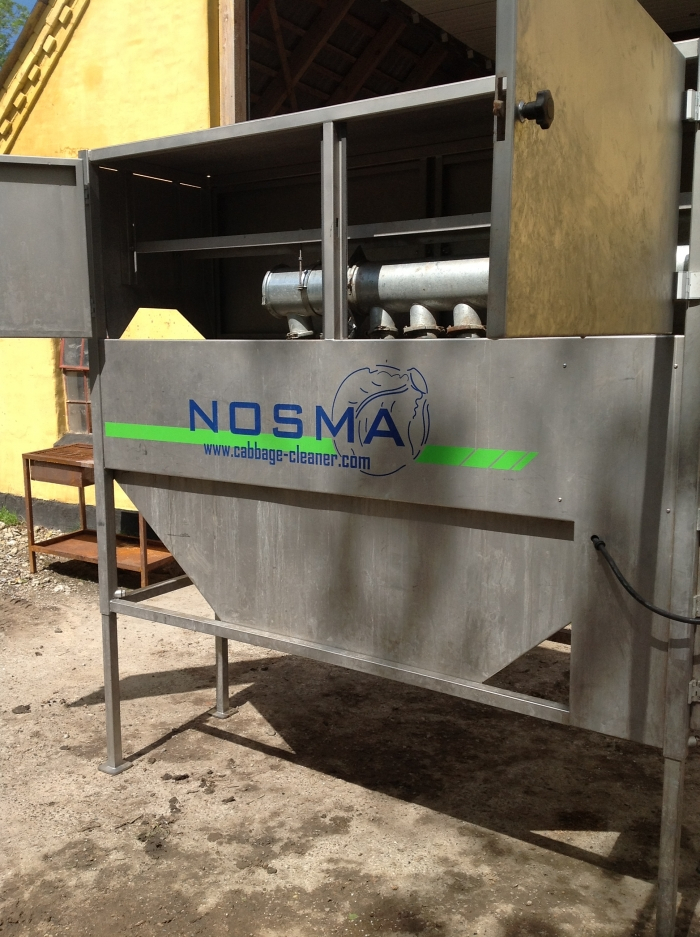 3531 Nosma cabbage cleaning line year model 2011