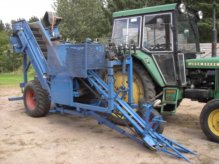 3086 Asa-Lift carrot harvester 1 row with bunker