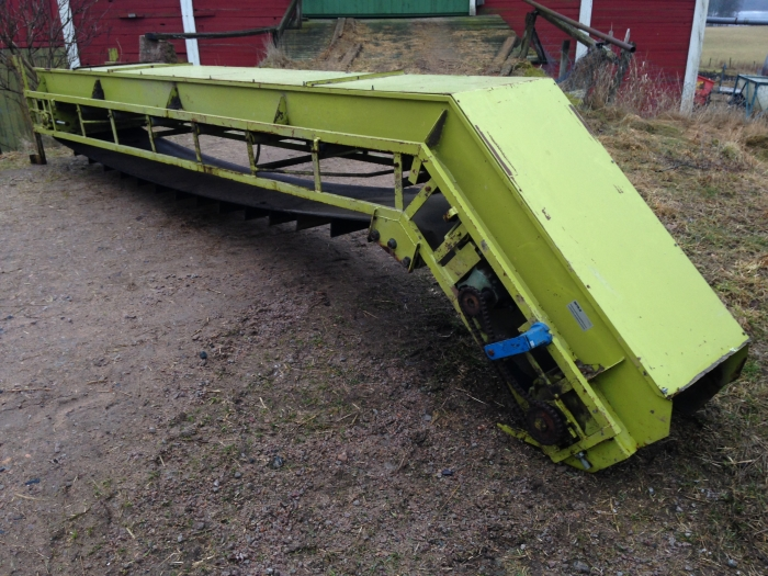 3805 Skals conveyor with goose neck