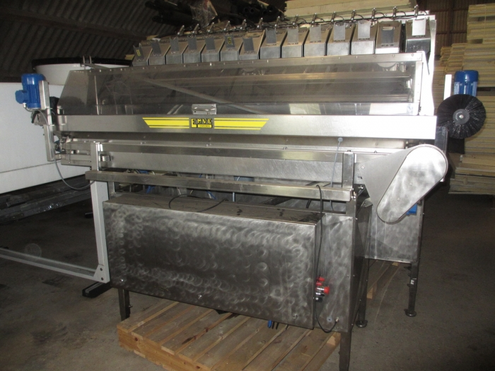 3839 Newtec 2014 AP weigher for Apples