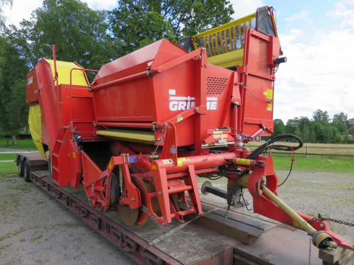 3874 Grimme SE75-40 potato harvester