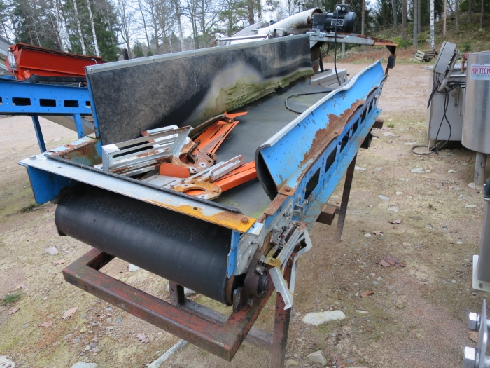 3939 EMVE conveyor 2600 x 550 mm