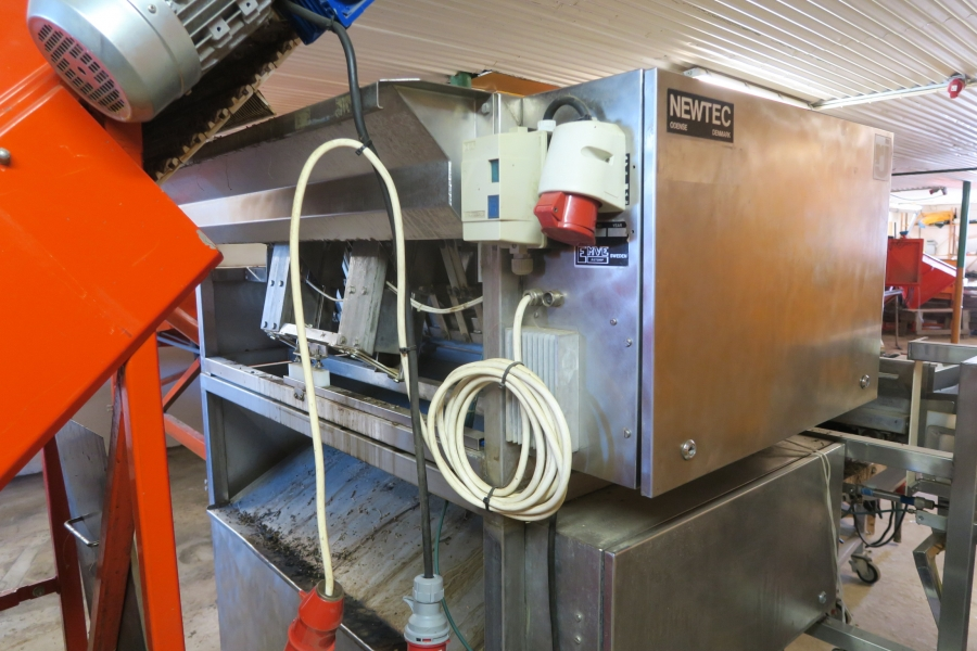 4646 Complete packaging line and weigher/bagger to Carrots